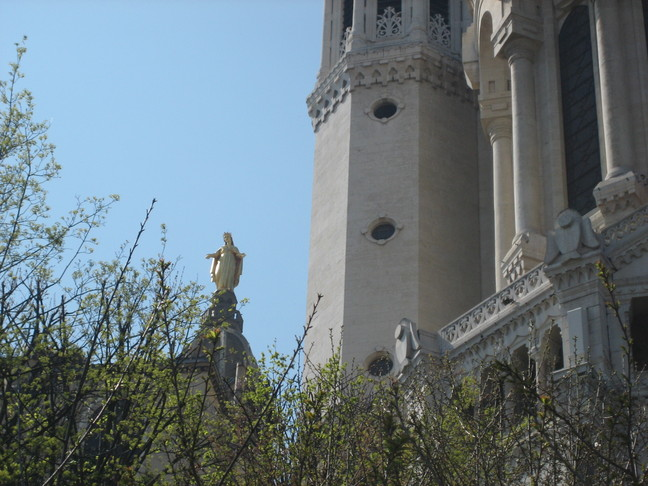 Week-end à Lyon. Colline de Fourvière.